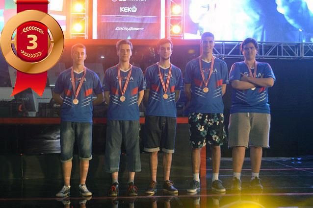 IeSF2016 Serbian Team